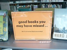 good books you may have missed...#Repin By:Pinterest++ for iPad#