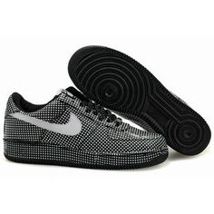 Nike Air Force 1 One Low Women Speckle Black Shoes 1001 http://www.martbasketball.com/nike-air-force-1-one-low-women-speckle-black-shoes-1001.html#