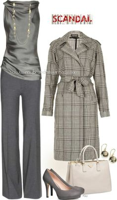 No. 942 - Scandal Fashion - Channeling Olivia Pope