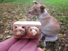 Custom pet portraits, animal carving, wood box sculpture, miniature art. This miniature drawer with a cute little animal faces is a sweet wood sculpture made by me of reclaimed wood. The unique miniature wooden box with two drawers I made of whole piece of reclaimed wood. Animal faces workin drawers are made from other pieces of wood. This hand carved wood product pictured is already sold ! You will receive similar drawer with animal faces , but not exactly the same. Keep in mind I will…