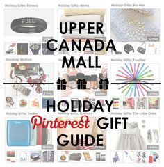 Upper Canada Mall Holiday Gift Guide plus win a $200 Gift Card @amotherworld!  #holidays #giveaway