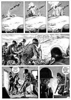 Century Danny Boy: Original Art Stories: The War Time Russ Heath Comic Book Artists, Comic Book Characters, Comic Artist, Comic Books Art, Comic Manga, Manga Comics, Military Drawings, Comic Book Panels, War Comics