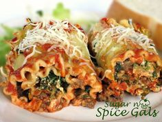 Spice Gals: Italian Lasagna Rolls