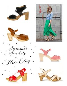 Best summer clog sandals (just happened to have bought a pair of these! Mrs Shirt, Summer Shoes, Summer Sandals, Expensive Shoes, Wooden Clogs, Clog Sandals, Babydoll Dress, Spring Summer Fashion, What To Wear