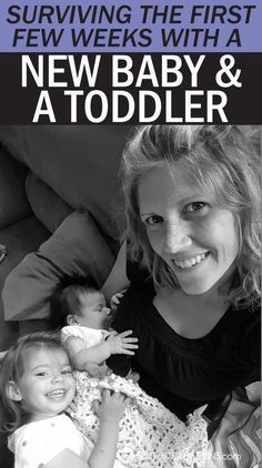 Tips to surviving the first few weeks with a new #baby and #toddler. #parenting advice   http://spotofteadesigns.com #parentingadvicegirls