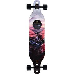 "Arbor Axis Walnut 40"" Drop Through Longboard Complete at Zumiez : PDP"