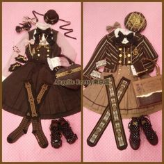 pyonny: Melty Ribbon Chocolate outfits from AP Tokyo Harajuku Fashion, Kawaii Fashion, Lolita Fashion, Cute Fashion, Fashion Ideas, Lolita Goth, Lolita Dress, Lolita Style, Visual Kei