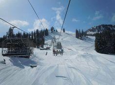 Brighton Ski Resort, Big Cottonwood Canyon, Utah