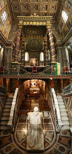 Santa Maria Maggiore, Roma, Italia.