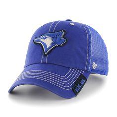 8239b54582d0e Toronto Blue Jays Turner Clean Up Royal 47 Brand Adjustable Hat