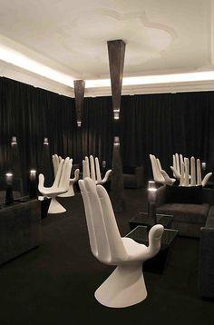 Chivas lounge, Mexico City.