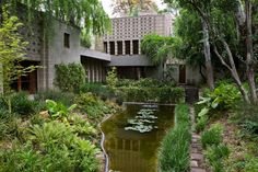 Millard House - Frank Lloyd Wright   Currently up for sale. I would love to buy  this property!