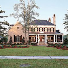 Abberley Lane Plan #683 - 17 House Plans with Porches - Southern Living..2 downstairs bedrooms. Yeah!