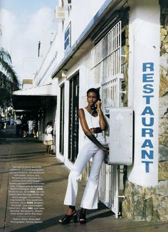 ☆ Beverly Peele | Photography by Pamela Hanson | For Vogue Magazine US | April 1993