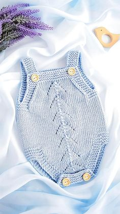 Baby Boy Knitting Patterns, Baby Clothes Patterns, Baby Patterns, Free Knitting, Free Sewing, Knitted Baby Clothes, Knitted Romper, Knitted Baby Outfits, Baby Set