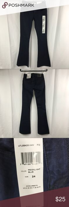 BCBGENERATION THE SAWYER BELL BOTTOMS SIZE 24 NWT BCBGENERATION THE SAWYER BELL BOTTOMS MOONLIGHT BLUE SIZE 24. BCBGeneration Jeans Flare & Wide Leg