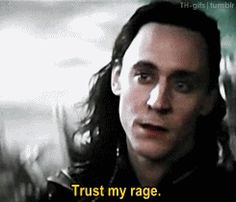 (gif) In the myths this is also one very trustworthy thing about Loki. Don't mess with his family, his rage will rip apart the entire cosmos. This knowledge makes this line that much more awesome!