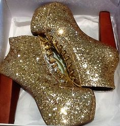 Glitter hate the shoes, love the shiny. I am like a bug attracted to light.