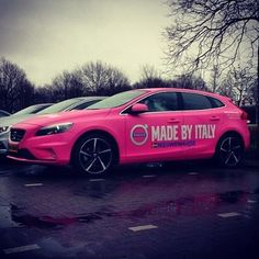 2016's Giro d'Italia will be starting in the Netherlands this summer! To promote it this pink V40 is driving around  #thevolvospotter #volvo #volvocars #car #cars #instacars #volvolove #volvofamily #volvoforlife #swedespeed #swedishmetal #volvomafia #volvoV40 #V40 #inscription #madeinsweden #sweden #polestar #rdesign #tuning #madeinsweden #awd #premium #Sweden #italy (: @j3roentje )