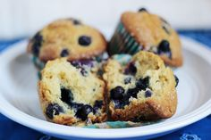 Blueberry Muffins | Beck Bakes (And Cooks!) #recipe #blueberry #muffins