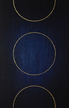 Amna Mulabegovich - Trust, 2013 acrylic / gold leaf 22k, 140 x 90cm