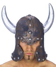 Шлем викинга с рогами — средневековый аксессуар — http://fas.st/A_V2s