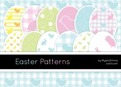Easter Patterns by MysticEmma #photoshop #photoshoppatterns #Easter