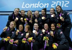 Team USA Water Polo Gold