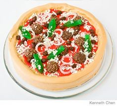 Pizza Birthday Cake Design