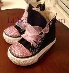 Bling Converse for Babies and Toddlers on Etsy, $55.00