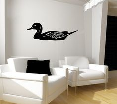 Wall Decal Duck Vinyl Wall Decal Graphic