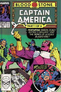Captain America #357, 1989