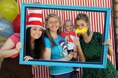 Dr. Seuss DIY Photobooth