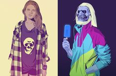 """28 """"Game Of Thrones"""" Characters Transported To The '80s And '90s"""