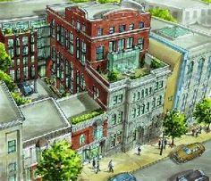 Condominiums dans un bâtiment à caractère historique entièrement rénové donnant sur les rues St-Laurent et Sherbrooke, Montréal (Québec) Canada #immobilier #condominium #prestige 2012-02-29