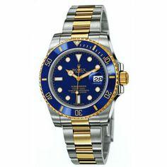 http://www.horloger-paris.com/fr/2974-rolex   Rolex Oyster Perpetual Submariner Date Rolesor Jaune ...