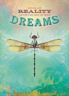 Dragonfly totem: Turning dreams into reality Dragonfly Quotes, Dragonfly Images, Dragonfly Art, Dragonfly Tattoo, Dragonfly Symbolism, Dragonfly Necklace, Illustrations, Dreaming Of You, Greeting Cards