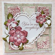 Heartfelt Creations | Blooming Heart