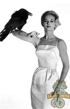 """'THE BIRDS' (1963) -- Poster Art PrintHitchcock's formal masterpiece 'The Birds' terrifies with its slow build to hell on Earth. Tippi Hedren, Jessica Tandy and Rod Taylor star. Cult item!DESCRIPTION: Each Deluxe 11"""" x 17"""" B&W Art Print is suitable for framing. PLEASE NOTE: The depicted frame is NOT INCLUDED but shown for illustrative purposes only. This price is for the art print only. ARCHIVAL QUALITY & VIBRANT CONTRASTThe contrast & presentation have been digitally enhanced to mak Tippi Hedren, Olivia De Havilland, Vintage Hollywood, Hollywood Glamour, Classic Actresses, Actors & Actresses, Amy Shumer, Alfred Hitchcock The Birds, Tv Movie"""