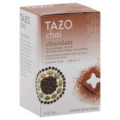 ... Chai Tea Chocolate Flavoured- Black Tea, Cocoa & Classic Chai Spices