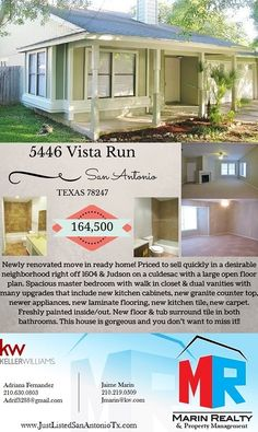CONTACT US FOR A SHOWING TODAY!!! A MUST SEE!!