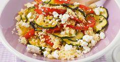 Verdoppeln Sie einfach die Zutaten, und schon haben Sie ein gesundes, leichtes Mittagessen fürs Büro (schmeckt auch kalt!).