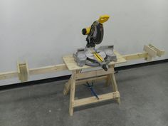 "Ultimate Folding Sawhorse II ""Shopdog"" - by Canexican @ LumberJocks.com ~ woodworking community"