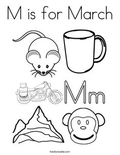 O is for Coloring Page from Letters