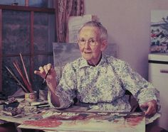 """If I hadn't taken up painting, I would have raised chickens…it's all art."" -Grandma Moses"