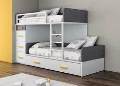CAMAS TREN|LITERAS TREN|LITERAS FIJAS | Dormitorios juveniles| Habitaciones infantiles y mueble juvenil Madrid
