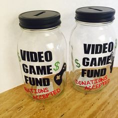 Video Game Fund Bank/ xbox/playstation/ Minecraft/ call of duty by AnchorRoseCompany on Etsy