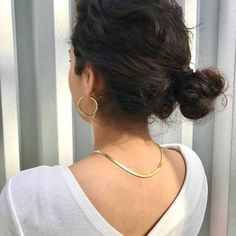 Seven Chains Jewelry (@sevenchainsjewelry) • Instagram photos and videos Pearl Earrings, Hoop Earrings, Stainless Steel Necklace, Herringbone, Chains, Gold Jewelry, 18k Gold, Necklace Chain, Entrepreneur