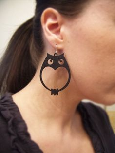 Cute laser cut earrings!
