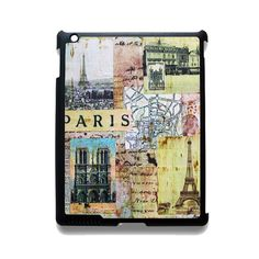 Paris France TATUM-8470 Apple Phonecase Cover For Ipad 2/3/4, Ipad Mini 2/3/4, Ipad Air, Ipad Air 2